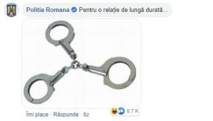 6. POLITIA ROMANA social media marketing