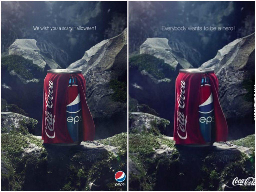 Pepsi si Coca Cola marketing